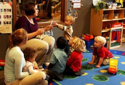 escolinha para bebes e crianças