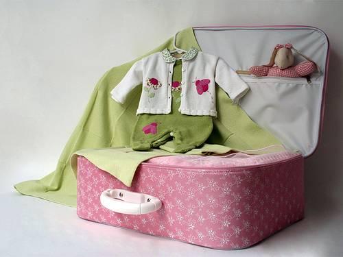 Prefira adquirir uma mala que você possa reutilizar.